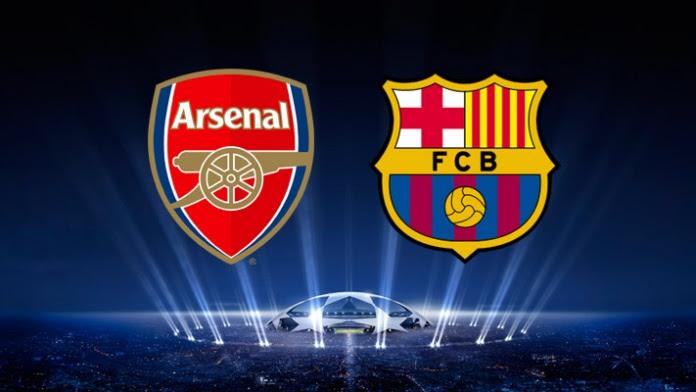 Kumpulan Gambar Dp Bbm Arsenal Vs Barcelona Di Babak 16 Besar Liga Champions Download Gambar Kata