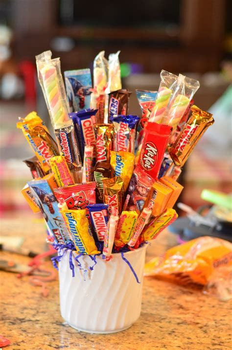 Tutorial: Make a Candy Bouquet   Dollar Store Crafts