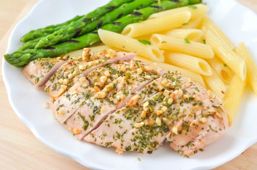 Courtney's Sweets~ Garlic and Parsley Baked Chicken Breast