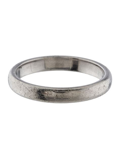 Tiffany & Co. 3mm Platinum Wedding Band   Rings   TIF44406