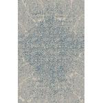 "Modern Blue Design Area Rug 2'7"" x 5' / Gray"