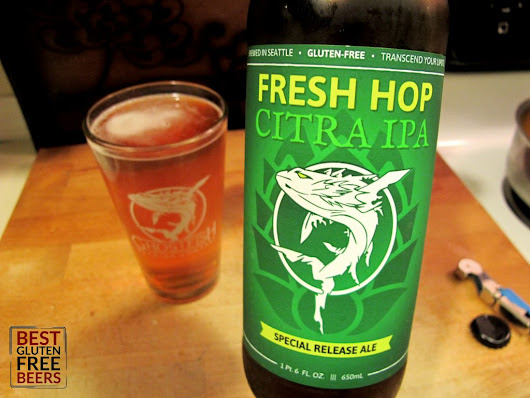 Ghostfish Brewing Citra Fresh Hop IPA - LindsiKay