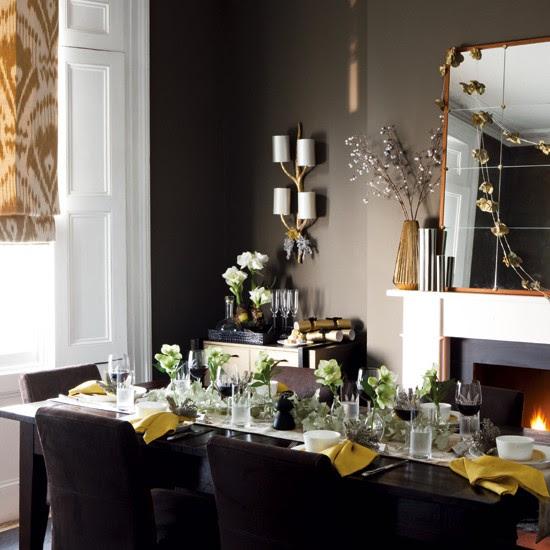 Christmas dining room | Timeless Christmas decorating | housetohome.