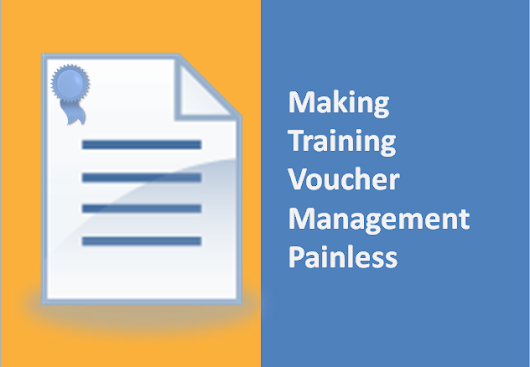 Voucher Programs = Peace of Mind for Training Organizations