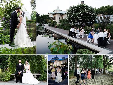 Outdoor garden wedding venue for New York brides  Brooklyn