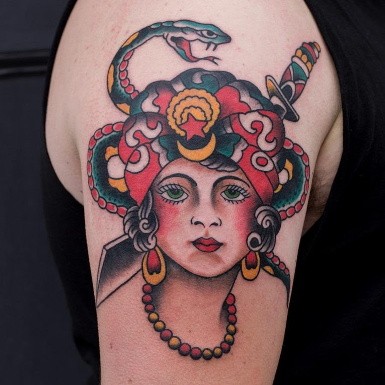 80+ Best Sailor Jerry's Tattoos Designs & Meanings - Old ...