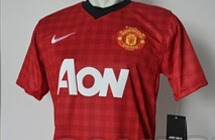 New Manchester United Gingham Kit 2012-13- Nike Man Utd Home Jersey 2012-2013