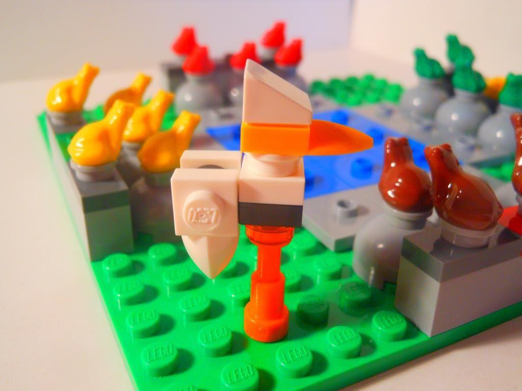 Lego Frog Rush - the stork