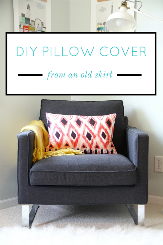 DIY Pillow Cover (from Something Unexpected)