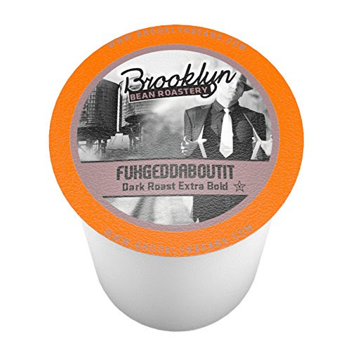 Brooklyn Beans Fuhgeddaboutit Coffee Single-cup coffee for Keurig K-Cup Brewers, 40 Count