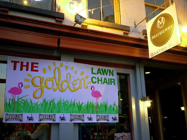 The Golden Lawnchair