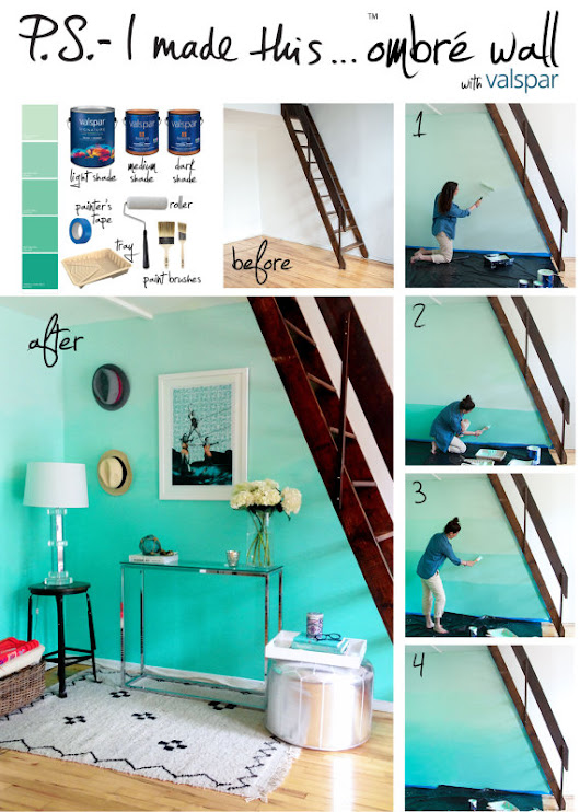 How To Create An Ombre Wall