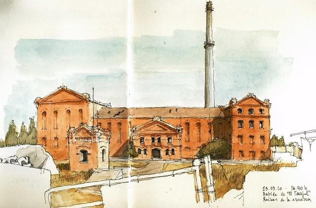 Málaga, ruined sugar cane factory