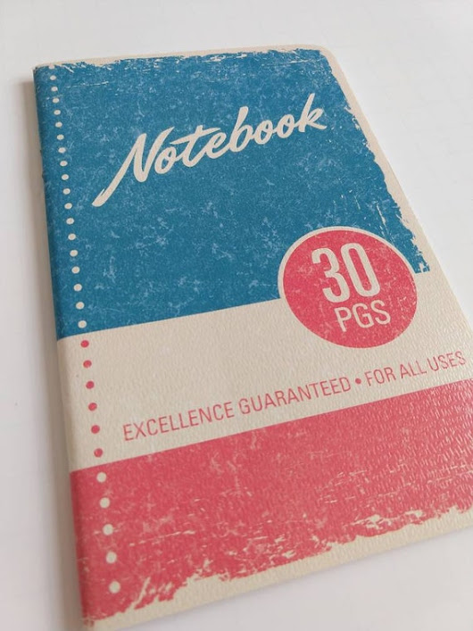 Vintage Inspired Notebook / Vintage Notebook / Retro Notebook / Retro Stationery / Vintage Inspired Stationery / Old School Notebook / Notes