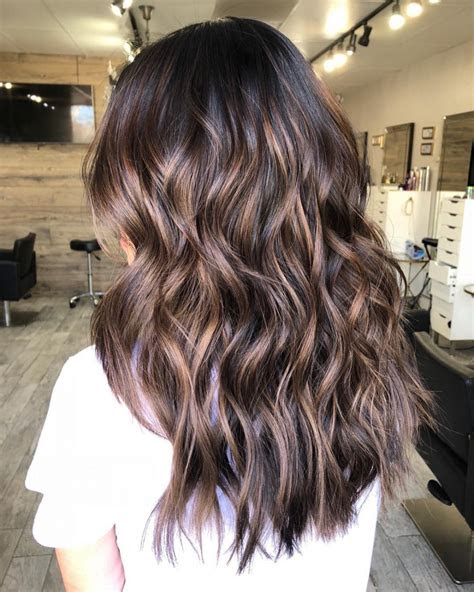 latest  exclusive lowlights  brown hair