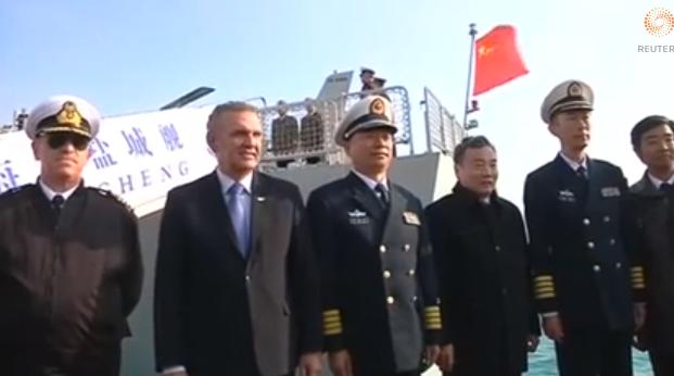 Κινεζικό πολεμικό στη Κύπρο