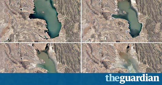 Google's satellite timelapses show the inconvenient truth about our planet | Art and design | The Guardian