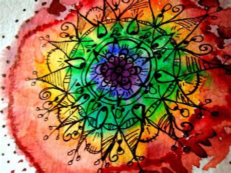 watercolor mandala ideas  pinterest tattoo