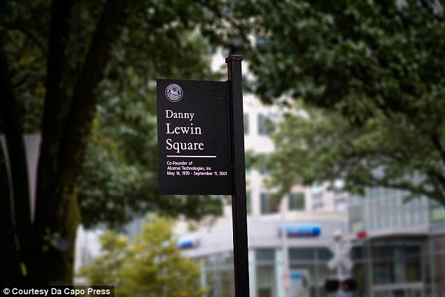 Gone but not forgotten: After Lewin's death, the intersection of Main and Vassar Streets in Cambridge, Massachusetts, was renamed Danny Lewin Square in his honor