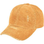 San Diego Hat Company CTH8155 Distressed Corduroy Ball Cap Mustard : One Size