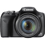 Canon - PowerShot SX530 16.0-Megapixel HS Digital Camera - Black