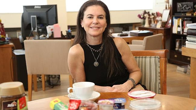 Ofra Strauss says Strauss Group's vision is to see the spread and dip category growing an