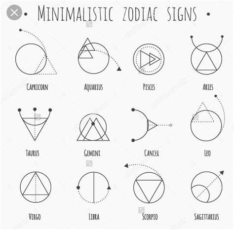 image result  minimalist zodiac tattoo tattoos