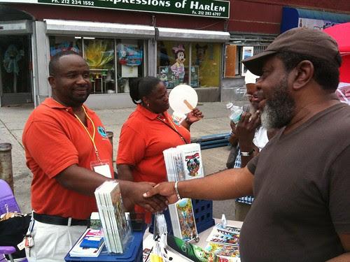 Author LeRoy Dukes @ Harlem Book Fair