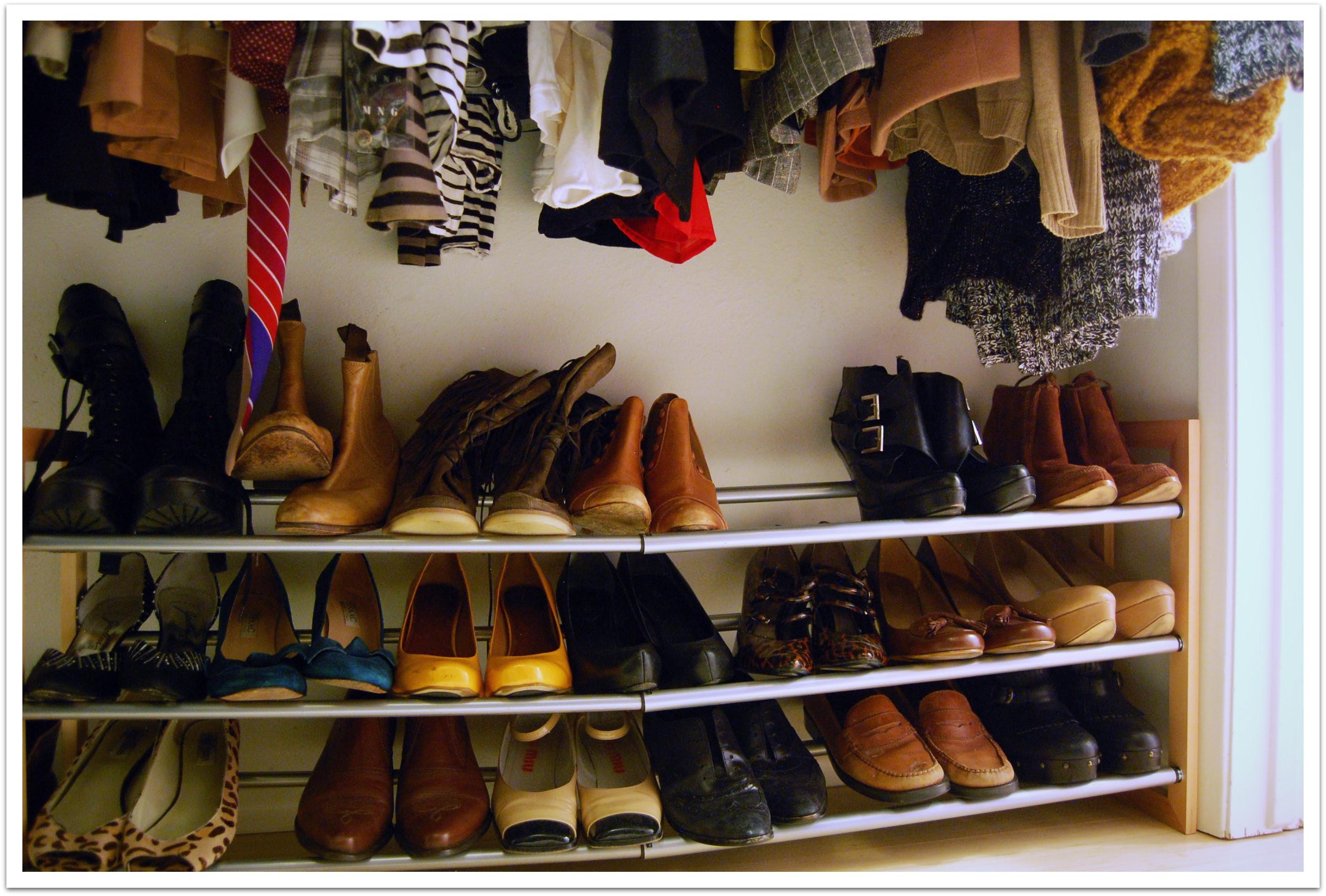 Shoe Rack For Closetconfession