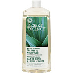 Desert Essence Tea Tree Oil Mouthwash, Spearmint - 16 fl oz bottle