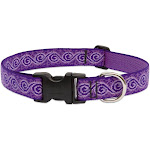 "Lupine 96953 Originals Adjustable Collar For Large Dogs, Jelly Roll, 1""x16-28"""