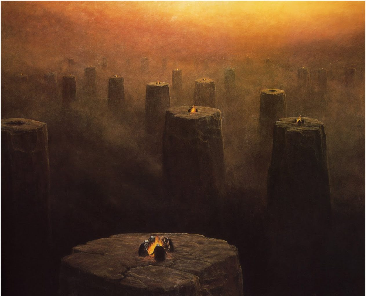 Image result for Beksiński