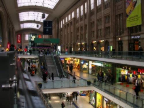 Leipzig main train station