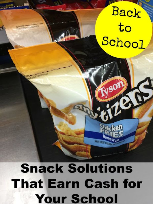 Back to School Snack Solutions (That Earn Cash for Your School)