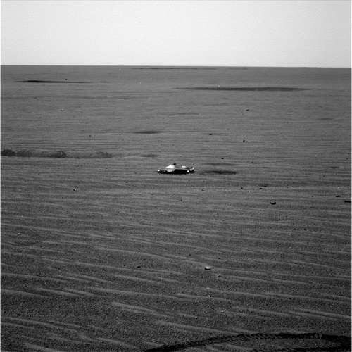 Finally, an alien spacecraft seen on Mars, but ...