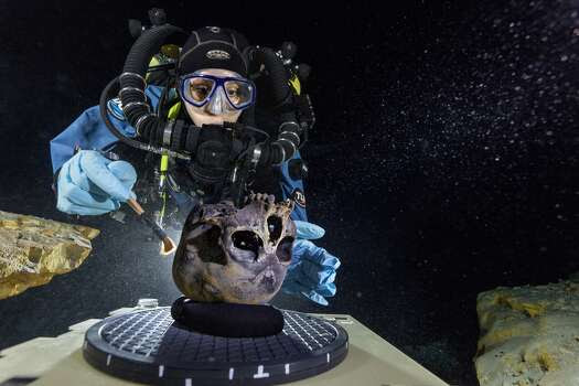 Girl's skeleton in underwater cave tells UT researchers about American faces