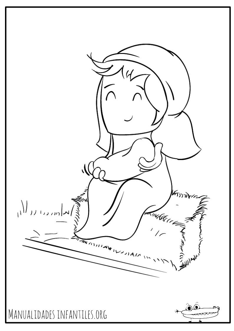 Dibujos Del Portal De Belen Actividades Para Ninos Manualidades