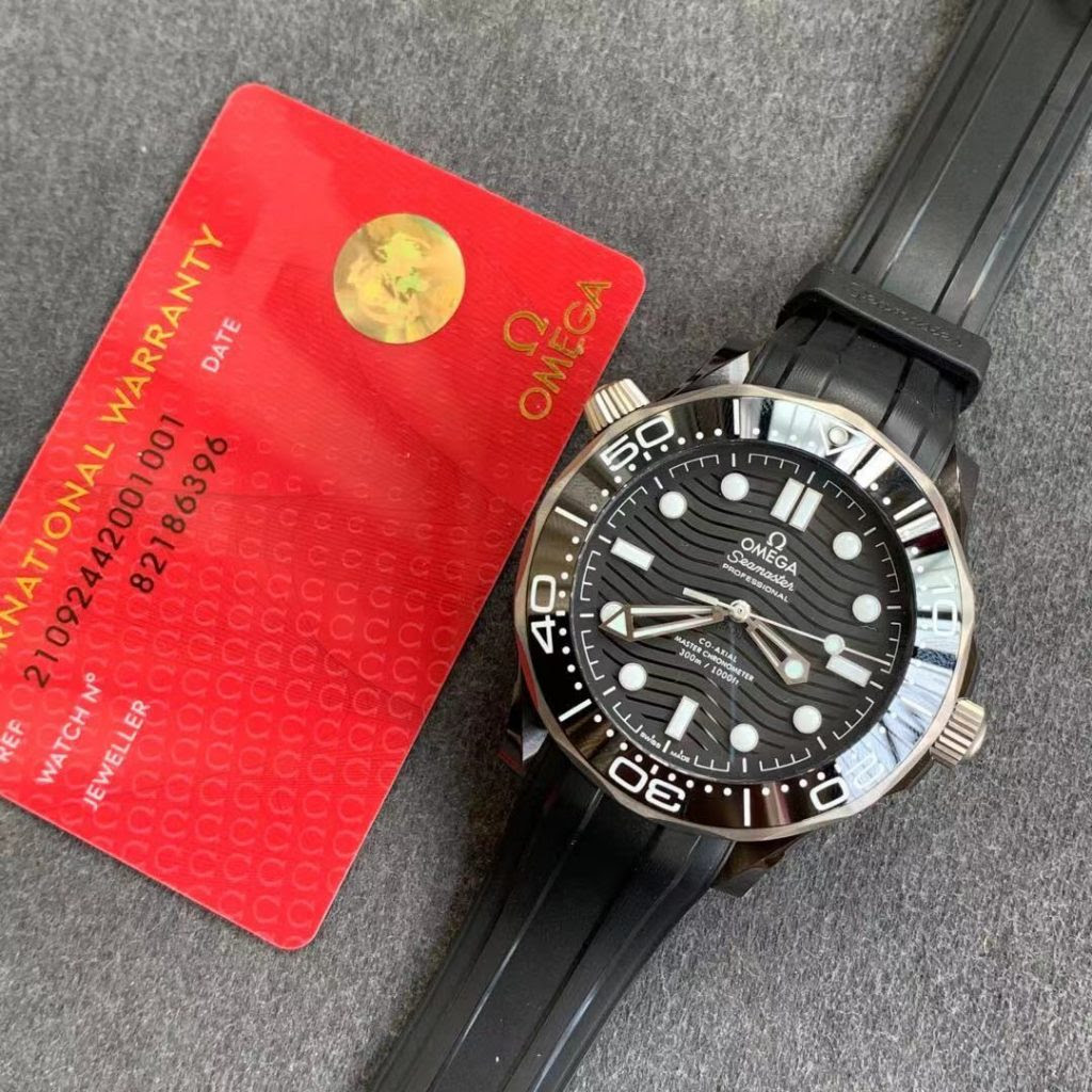 Omega Seamaster SS Rubber
