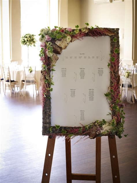 21 best Floral Wedding Table Plans images on Pinterest