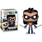 Funko Pop! Television Teen Titans Go! Robin with Baby #599