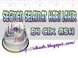 Segmen : Selamat Hari Lahir By Cik Ash