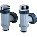 Intex Above Ground Replacement Plunger Valves with Gaskets & Nuts