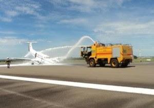 No incio do ano, outro avião da empresa também teve problemas