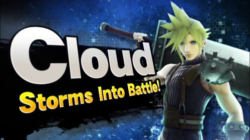 Cloud Strife from Final Fantasy VII in Super Smash Bros. for Wii U and 3DS on Paul Gale Network