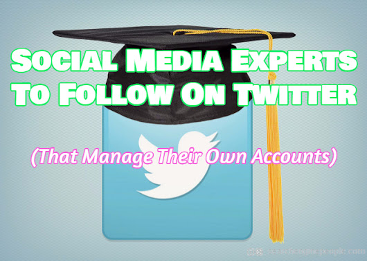 Social Media Experts To Follow On Twitter (That Manage Their Own Accounts) | Search Engine People