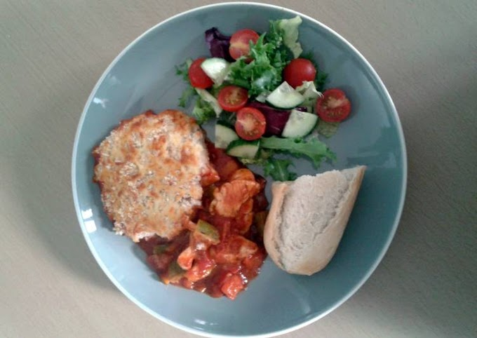 Step-by-Step Guide to Prepare Perfect Cooking Mama's Chicken & Chorizo Gratin
