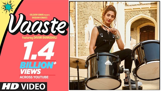 Vaaste Lyrics in Hindi – Dhvani Bhanushali, Tanishk Bagchi 2019