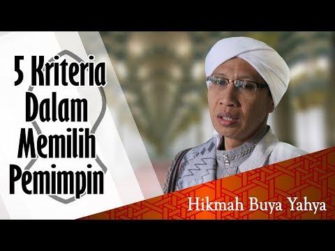 5 Langkah Memilih Pemimpin Menurut Buya Yahya