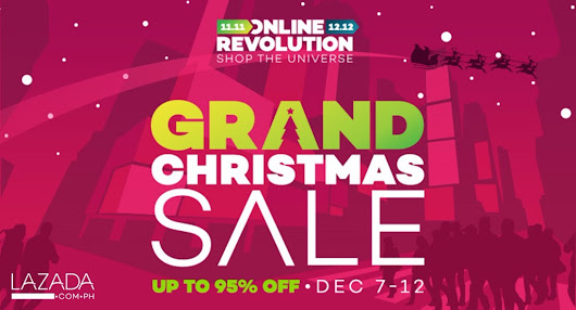 Over Four Million Christmas Deals await Shoppers during Lazada Philippines' Online Revolution Grand Christmas Sale