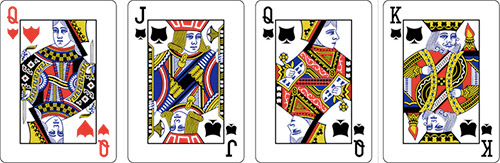 Deck6: a deck of cards with 6 suits